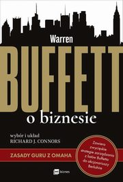 Warren Buffett o biznesie, Connors Richard J.