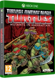 Teenage Mutant Ninja Turtless Mutants in Manhattan Xbox One,